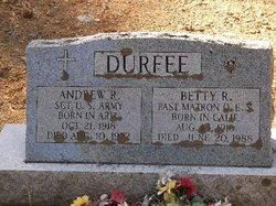 Andrew R Durfee