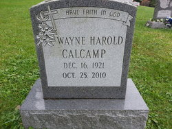 Wayne Harold Calcamp