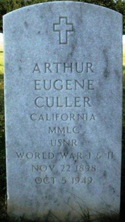 Arthur 'Eugene' Culler