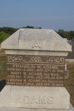 Mary S Adams