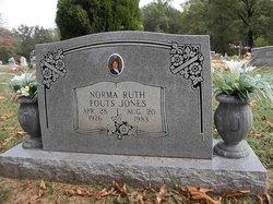 Norma Ruth <i>Fouts</i> Jones