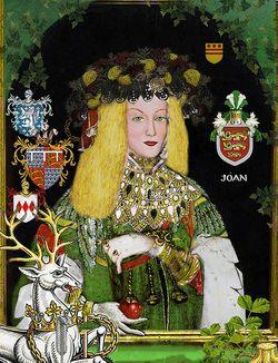 Lady Joan The Fair Maid of Kent <i>Plantagenet</i> Holland