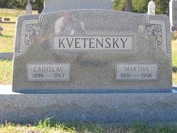 Martha <i>Janicek</i> Kvetensky