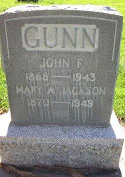 Mary Ann Daisy <i>Jackson</i> Gunn