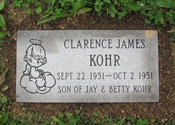 Clarence James Kohr