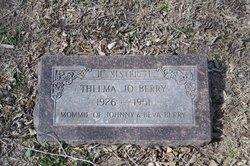 Thelma Jo <i>Mitchell</i> Berry