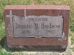 Dessie M <i>Shoemaker</i> Hudson
