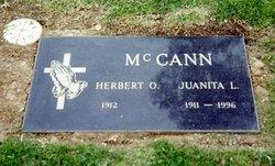 Juanita Lee <i>Harris</i> McCann