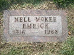 Nell <i>McKee</i> Emrick