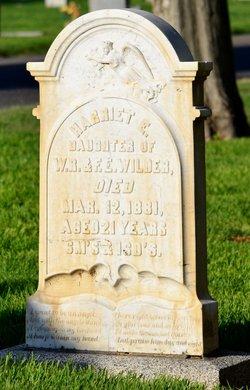 Harriett E. Wilder