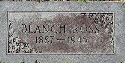 Blanche <i>Woodruff</i> Ross