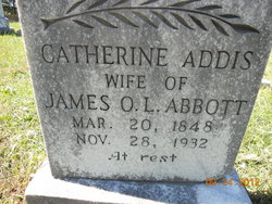 Catherine <i>Addis</i> Abbott