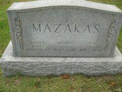 Anna V Mazakas