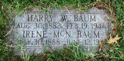 Irene E <i>McNelly</i> Baum