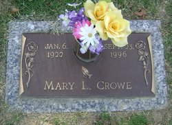 Mary L Crowe