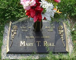 Mary Thelma <i>Schaeffer</i> Roll