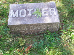 Julia <i>Davidson</i> Taylor