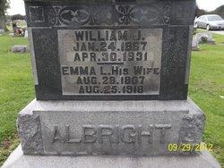 Emma L. <i>Smith</i> Albright