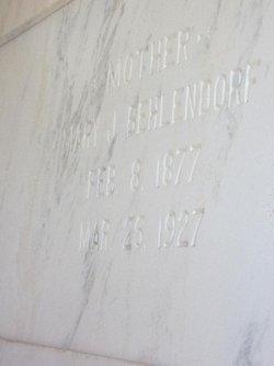 Mary Josephine Mamie <i>Martin</i> Behlendorf