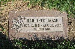 Harriet <i>Peter</i> Haase