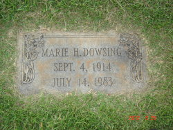 Marie Louise <i>Howell</i> Dowsing