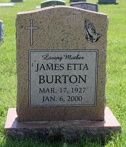 James Etta Burton