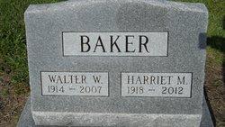Walter W. Baker
