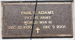 Paul E Adams