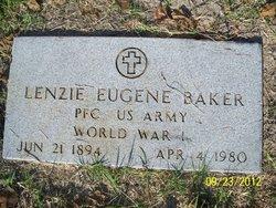 Lenzie Eugene Baker