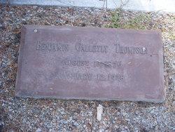 Benjamin Galletly Thompson