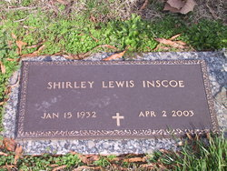 Shirley Lewis Inscoe