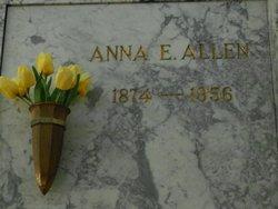 Anna E <i>Jones</i> Allen