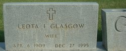 Leota I <i>Davis</i> Glasgow