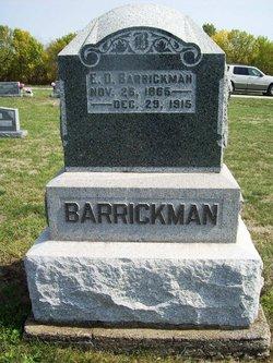 E D Barrickman