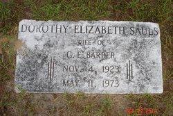 Dorothy Elizabeth <i>Sauls</i> Barber