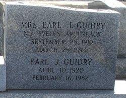 Evelyn <i>Arceneaux</i> Guidry