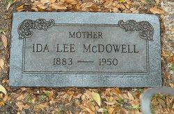 Ida Lee <i>Winkles</i> McDowell