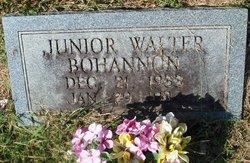 Junior Walter Bohannon