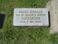 David Donald Alexander
