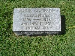 Marie Josephine <i>Clawson</i> Alexander