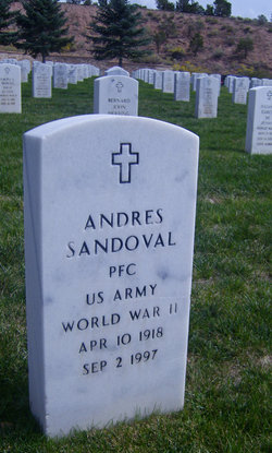 PFC Andres Sandoval