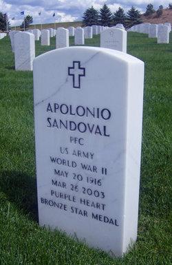 PFC Apolonio Sandoval