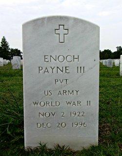 Enoch Payne, III