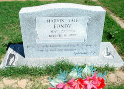 Marvin Tate Fondy