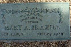 Mary Agnes <i>Fullum</i> Brazill