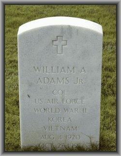 William Alonzo Adams, Jr