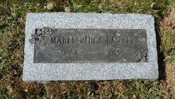 Mabel Ruth <i>Ridge</i> Banker