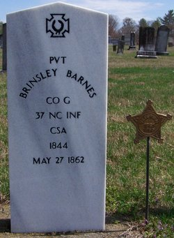 Pvt Brinsley Barnes