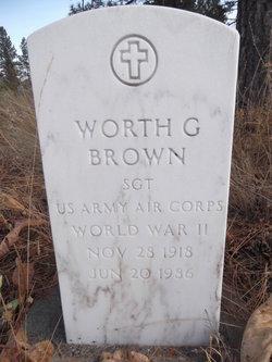 Worth G. Brown