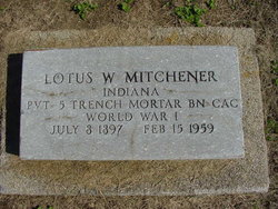 William Lotus Bill Mitchener